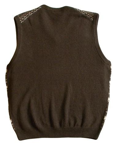 Jos. A. Bank Size XL Mens Brown Multi-Color Sweater Vest