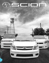 2006/2007 Scion xA xB tC brochure catalog ISSUE 08 magazine bB ist - $8.00