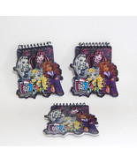 Lot of 3  Monster High Freaky Fab Memo Pads 48 Sheets Each Spiral Bound ... - $6.99