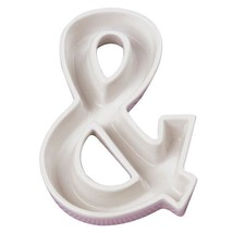 Wedding Ceramic Letter Dish - & - Reception Candy Favors Gifts Table Decor - £7.58 GBP