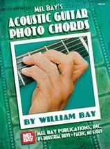 Acoustic Guitar Photo Chords Book/Big Chord Grids/298 Chords/Bargain Priced - $8.99