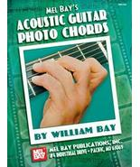 Acoustic Guitar Photo Chords Book/Big Chord Gri... - $8.99