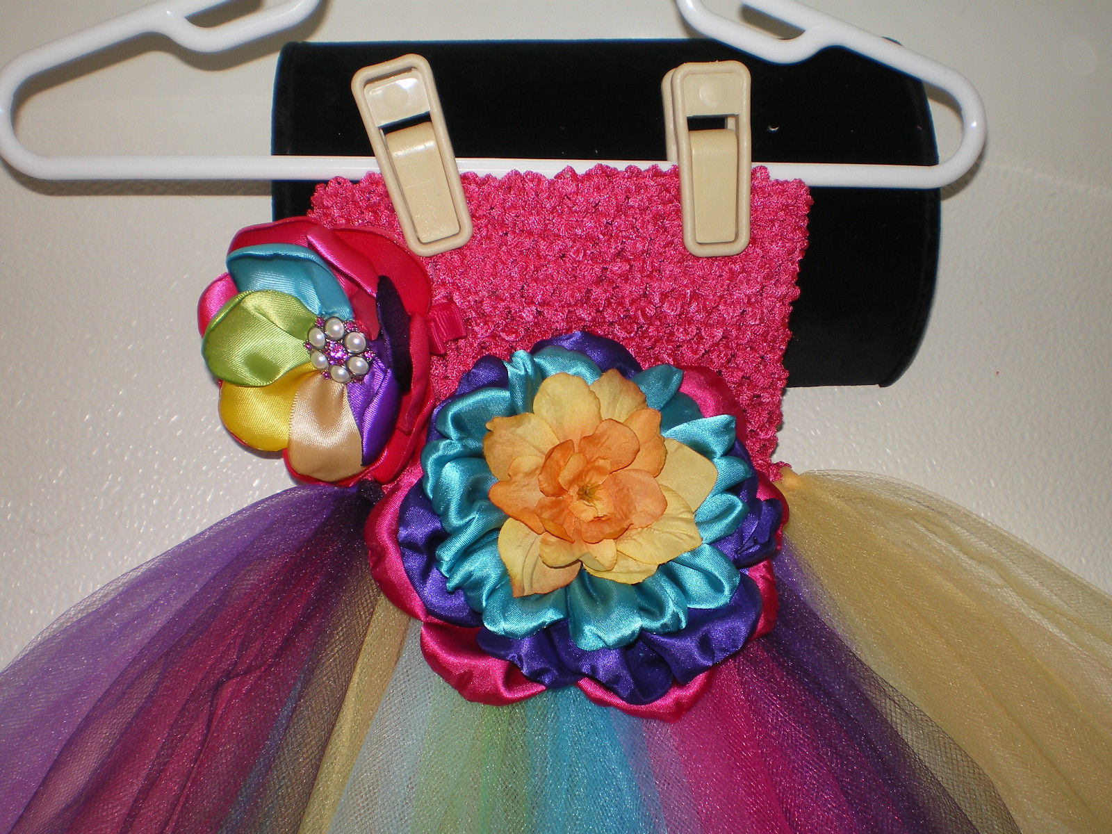 3fbe5fe37 Baby Girl To Toddler Bright Rainbow Tutu and similar items. 57