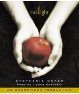 Twilight by Stephenie Meyer Unabridged Audio Book ~11 Compact Disks - $4.99