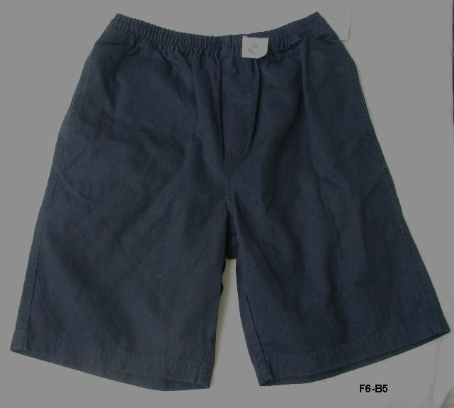 F6 b5 dark blue shorts