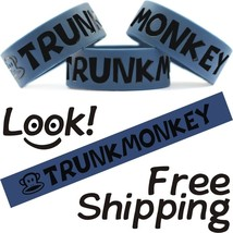 Trunk Monkey Funny One Inch Band Monkeys In Trunk Wristband Free Shipping - $7.88