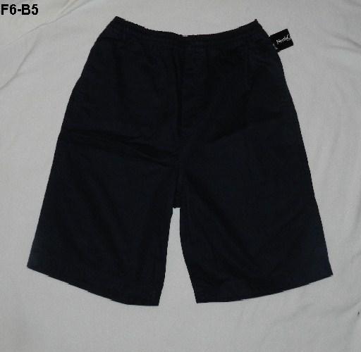 Northcrest Size Medium 32-34 Black/Navy Shorts NWT