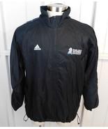 Vtg Adidas Fairleigh Dickinson University Full Zip Windbreaker Lined Jac... - $24.74