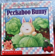 Lift the Flap Book of Playing Peek a Boo - Peekaboo Bunny & Baby Animals  - $2.00