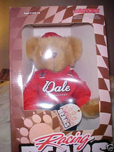 "Dale Earnhardt Jr Teddy Bear Toy Brown Red Black Fire Suit Plush 10"" lim... - $37.99"