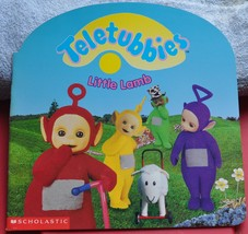 Teletubbies Book  Little Lamb - Why is Little Lamb Sad? Can they make Lamb Happy - $2.00