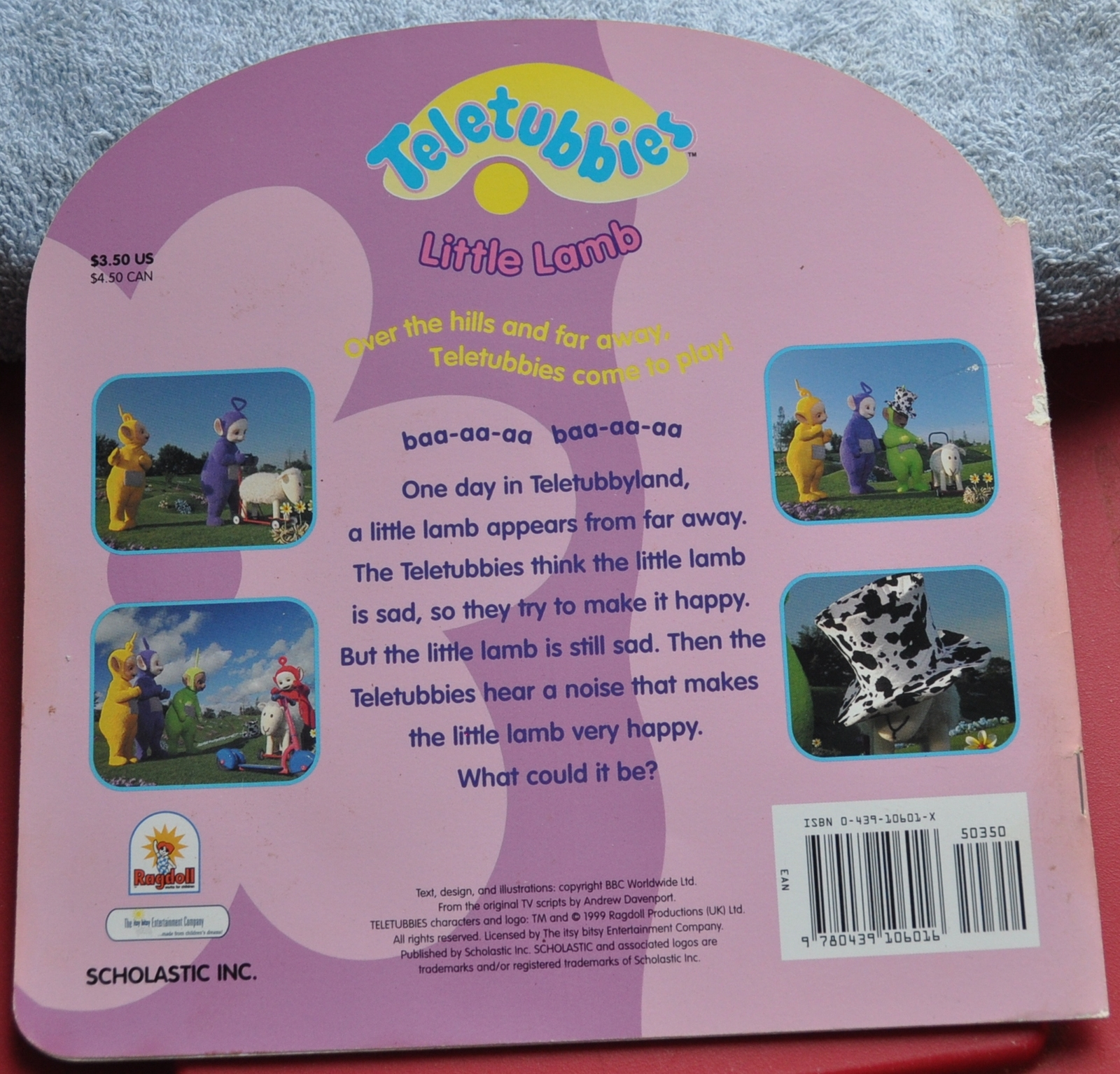 Teletubbies Book  Little Lamb - Why is Little Lamb Sad? Can they make Lamb Happy