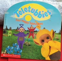 Teletubbies Book Four Happy Teletubbies Counting & Subtacting From 0 to 4 - $0.50