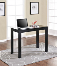 NEW! Altra Furniture Parsons Desk with Drawer, Panther Black Finish - $100.00