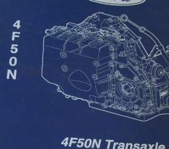 Ford 4F50N Transmission Transaxle Reference Manual PTB 402 FACTORY DEALE... - $27.84