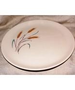 Vintage 1959 SALEM BOUNTIFUL Wheat Pattern Dinner Plates No Gilt 3 Avail... - $8.00