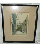 L. Bailey Original Watercolor Sacre Coeur Paris France Lionel S or Lyle - $175.00