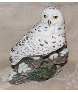 "Vintage 1986 Maruri 6"" SNOWY OWL Porcelain Figurine Majestic Owls of the... - £57.87 GBP"