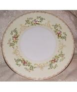 MEITO FLORA Bread & Butter Plate Elegant Hand Painted Porcelain Japan 1950s - $4.95