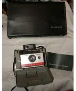 1966 Polaroid Automatic 104 Land Camera Case & Booklet - $34.65