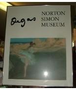 1980s Edgar DEGAS Dancer on Point Framed POSTER Norton Simon Museum Pasa... - $85.00