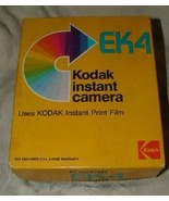 VINTAGE 1976 Kodak EK 4 Instant Crank Camera with Box & Instructions - $25.00