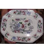 """1843-55 Staffordshire MAYER AVA Stoneware 16"""" Platter akaFlower Vase Chi... - $425.00"""