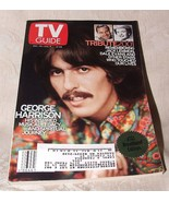 Dec 29 2001 - Jan 4 2002 TV GUIDE GEORGE HARRISON Beatles Jack Lemmon Da... - $10.00
