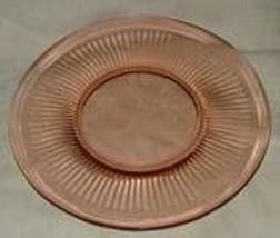 SCARCE 8 Adam's Rib Luncheon Plates PINK 1925 D... - $158.40