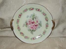 1904+ Kalk Porcelain Rose Transfer Gilt Handled Bowl Eisenberg Thuringia... - $24.75