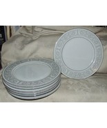 8 Imperial China WHITNEY Dinner Plates Designed by W Dalton Japan Fine P... - $74.25