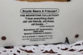 Boyds Bear Resin Soccer Bear 228307 Rocky Bruin... Score Score Score image 3