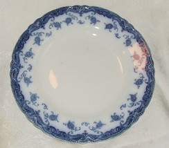 AS IS ANTIQUE 1907 MEAKIN OLYMPIA Flow Blue DINNER PLATE English Staffor... - $14.85