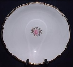 Vintage 1960s Empress China of Japan ELEGANT ROSE Large Vegetable Bowl #175 - $25.74