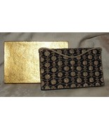 2 Sided 1930s-40s RAZIA ZARDOZI Metallic Thread Embroidered Handbag Orig... - $180.00