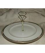 Royal Doulton FORSYTH Center Handle Sandwich Tid Bit Serving Plate H5197... - $40.00