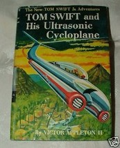 1957 Tom Swift and his Ultrasonic Cycloplane by Victor Appleton Near Fin... - $25.00