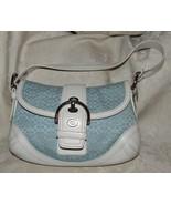 VINTAGE 2007 COACH #F10925 Signature Soho Satchel Buckle Flap Shoulder Bag - $85.00
