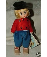 "Vintage 1976-89 Madame Alexander #577 NETHERLANDS BOY 8"" Doll Wooden Shoes - $25.00"
