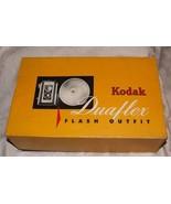 1950s Kodak Flash Outfit Duaflex II Box Camera Orig Box 620 Film Kodet Lens - $125.00
