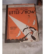 1930 Sheet Music Cover Only Sing Something Simple from The Second Little... - $5.00
