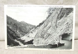 c1940 Postcard FEATHER RIVER HIGHWAY Sierras CAlifornia SHELL PHOTO by P... - $4.95