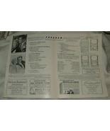 1945 Radio City Music Hall Program WEEK-END at the WALDORF Lana Turner G... - $10.00