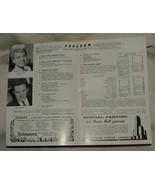 1957 Radio City Music Hall Program THE PAJAMA GAME Doris Day John Raitt - $10.00