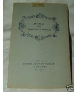1938 Boston and Some Noted Emigres STATE STREET US-France by Forbes & Ca... - $15.00