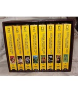 8 National Geographic Videos VHS Tapes Cats Hawaii Moon Landing Gems Lions - $40.00
