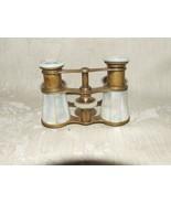 Antique Le Souverain Paris FRANCE Mother of Pearl Opera Glasses Binoculars - $325.00