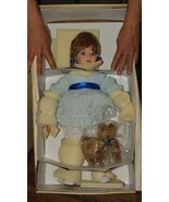 "26"" Elite Porcelain Artist Doll ABBY w/ Teddy Bear by Penelope Carr NEW ... - $175.00"