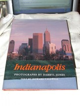 1990 INDIANAPOLIS Oversize Coffee Table Book Darryl Jones Howard Caldwel... - $27.72