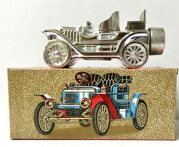 Vintg Full Avon Stanley Steamer Car Decanter New In Box w/DEEP Woods After Shave - $10.00